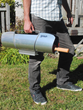 Portable solar cooker oven easy to carry lightweight design outdoor fuel-free oven.