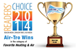 Monrovia Weekly Readers' Choice Award Goes to Air-Tro for Heating and...