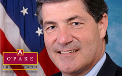 U.S. Rep Jim Gerlach will headline the O'Pake Institute's annual lecture at Alvernia University.