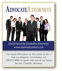 Nampa Social Security Attorney