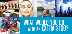 What Would You Do with an Extra $100?