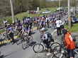 Veterans ride with civilians and active-duty military in the 2014 Face of America bicycle ride.