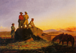 Scouts along the Teton-Gilcrease Museum