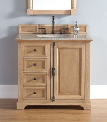 Providence 36″ Single Bathroom Vanity In Natural Oak 238-105-5521 from James Martin Furniture