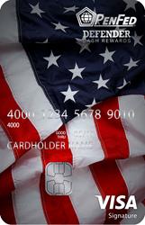 Defender Visa Sig Card