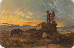 John Mix Stanley painting, 1855