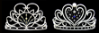 The Miss California USA Legacy Crowns by Peter Young of INTA Gems & Diamonds
