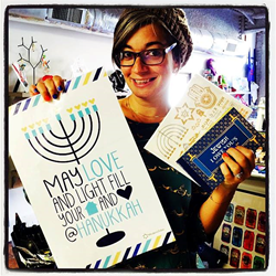 Rachel Shops for Hanukkah Goodies and 10% Goes to Atlanta Jewish Music Festival