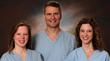 From left: Dr. Catrina Crisp; Dr. Steven Kleeman and Dr. Rachel Pauls. (Photo Provided)