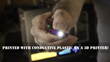 Functionalize Electronically Conductive 3D Printed LED Flashlight