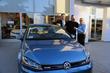 First Volkswagen eGolf sold at Volkswagen Santa Monica