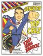 Ted Cruz Saves America Coloring Book