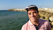 Benny Goldstein with the Ashkelon Visor