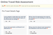 etravelsafety.com Launches Online Travel Risk Assessment Calculator