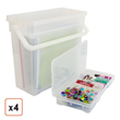New Scrapbooking Storage Boxes Category Added on JustPlasticBoxes.com