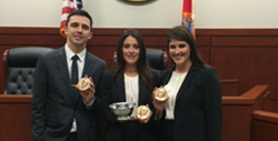 The Stetson Law team swept the Region V competition, heads to the National Finals.