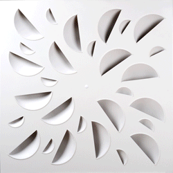 NEX Concave Elements Architectural Swirl Diffuser