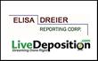 LiveDeposition.com Introduces New Client: Elisa Dreier Reporting Corp.