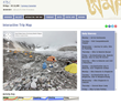 Interactive map showing a 360 degree view of Everest Base Camp
