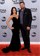 Natalia Starzynski wearing David Mor earrings, necklace, and ring at 48th annual CMA Awards