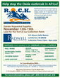 Radwell International, Inc. is helping to fight the Ebola outbreak November 12th -19th