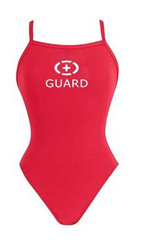 1-Piece Women's Lifeguard Swimsuit
