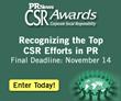 PR News' CSR Awards – Final Deadline is This Week