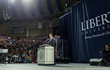 Sen. Rick Santorum speaks to Liberty University students during Convocation on Nov. 10.