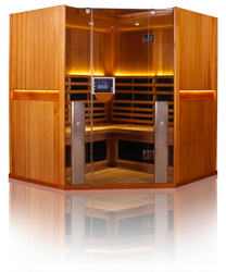 Clearlight Infrared Saunas - Full Spectrum Infrared Saunas with Android Tablet App Control
