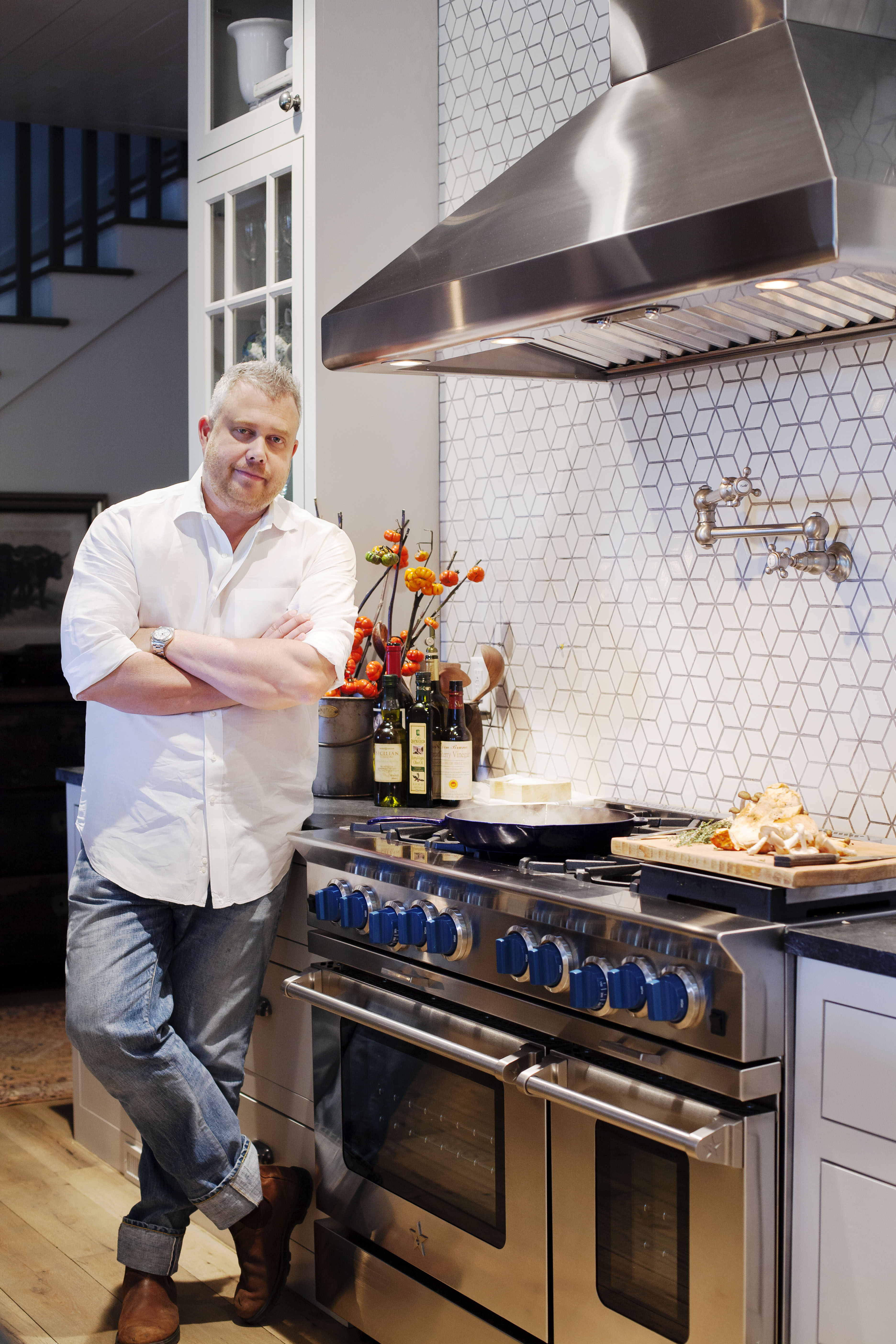 Chef Ford Fry Takes High Performance Cooking From The