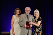 SMPTE Executive Director, Barbara Lange; Ioan Allen; SMPTE President, Wendy Aylsworth