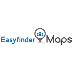Easyfinder Maps, tailgate, beach, music festival