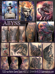 Gallery Abyss collage