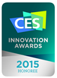 The SWISH Q has been honored with a CES Innovation Award for outstanding design and engineering!