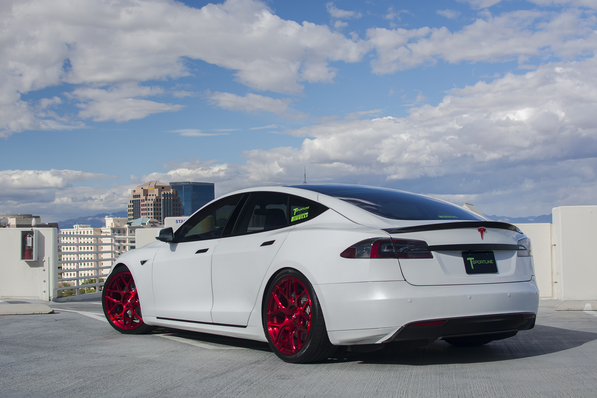 T Sportline S Most Expensive Tesla Model S Showcasing At