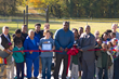 City officials and members of the Alton Park community cut the ribbon at the South Chattanooga Fitness Zone