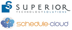 Superior Technology Solutions and Schedule-Cloud Logos