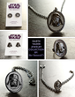 Are you a Dark Side Diva? Make a statement with this stunning new Darth Vader jewelry collection from Her Universe. Designed at The Sparkle Factory and Made in the USA.