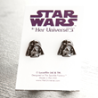 These striking, black hematite Darth Vader stud earrings from Her Universe will subtly show others your power. Designed at The Sparkle Factory and Made in the USA.