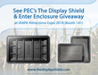 PEC's The Display Shield and Giveaway to Make a Splash at IAAPA Attractions Expo 2014