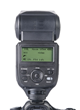 New Phottix Mitros+ TTL flash unit for the Sony multi-interface Hotshoe (back view)