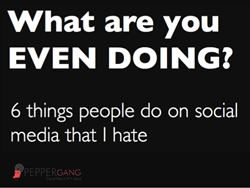 What Are You Even Doing? 6 Things People Do On Social Media That I Hate