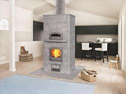 Tulikivi Fireplace Bake Oven