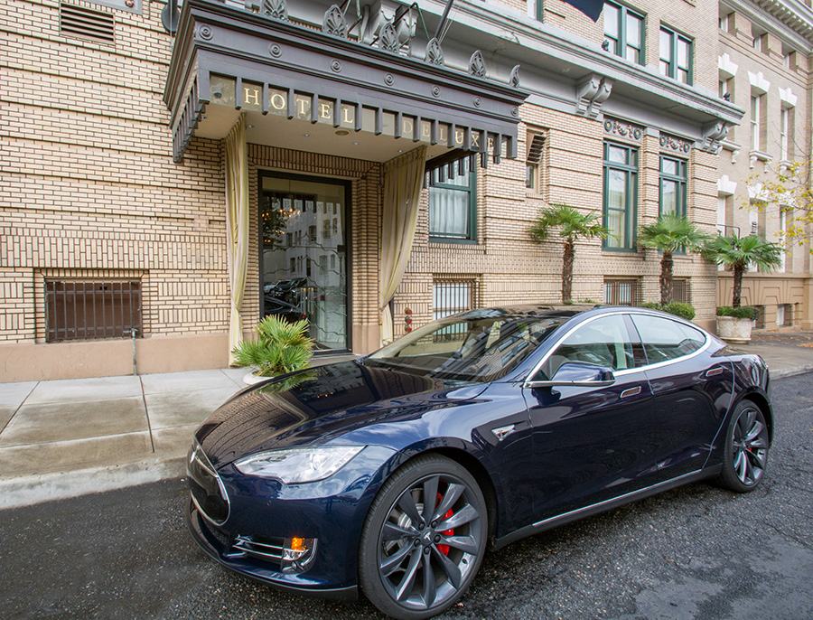 Provenance Hotels Rev Up Green Travel With Zipcar And Tesla