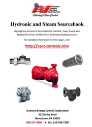 Hydronic and Steam Sourcebook Cover from NECC