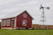 "The red barn where the turkeys are being raised has been nicknamed ""Mini Cooper"" because it was designed to be a miniature version of the Cooper Farms symbol, which is a red barn and windmill."