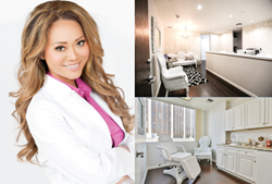 Dr. Catherine Begovic, the director of an upscale Beverly Hills plastic surgery practice caters to the needs of women traveling from the Middle East for cosmetic surgery.