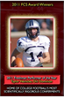 Taylor Heinicke - 2011 CFPA FCS National Freshman Performer of the Year