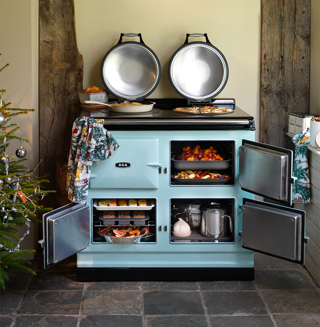 The Next Generation Of Aga Cast Iron Ranges Bring More