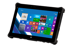 rugged tablet for business with microsoft windows